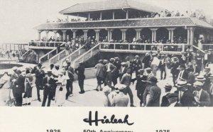 MIAMI , Florida , 1975; Hialeah Horse Race Track 50th Anniversary