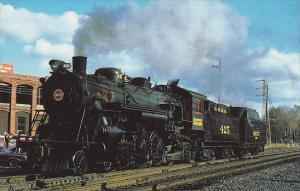 Blue Mountain & Reading Railway Baldwin 4-6-2 Locomotive Number 425