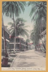 Cristobel, Panama - 3rd Ave., Cristobal looking towards Limon Bay - 1909