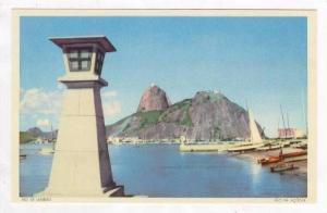 Showing Boats, Pao De Acucar, Rio De Janeiro, Brazil, 1930s