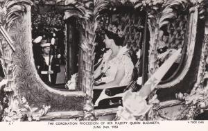 RP: Coronation Procession , Queen Elizabeth , England , 1953