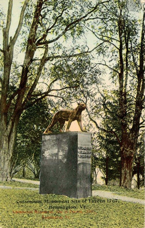 VT - Bennington. The Catamount Monument