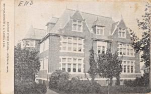 HOPEDALE MASSACHUSETTS~ DUTCHER STREET SCHOOL POSTCARD 1908
