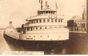 US    PC4585 HENRY FORD SHIP AT DAVIS LOCK, MICHIGAN