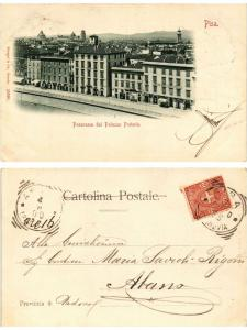 CPA PISA Panorama dal Palazzo Pretorio. ITALY (467446)
