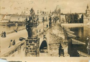 Postcard Czech Republik Prague Karlov