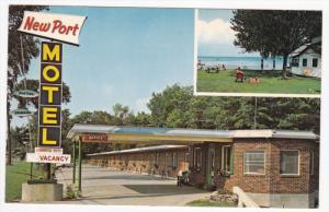 ORILLA, Ontario, Canada, 1940-1960's; New Port Motel on Highway #11