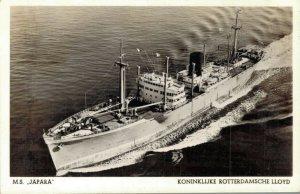 Ship M.S. Japara Koninklijke Rotterdamsche Lloyd Nautica 03.03