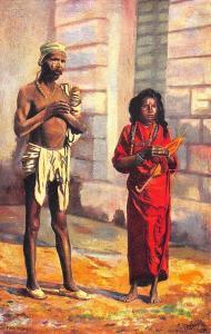 Native Life In India Native Fakirs Raphael Tuck Postcard