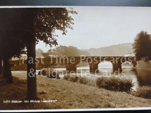BRECON, USK BRIDGE c1928 RP by Judges No.10632