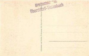 RPPC Breitachklamm Wasserfall Oberstdorf Tiefenbach c1910s Vintage Postcard