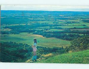 Pre-1980 TOWN VIEW SCENE Canning Nova Scotia NS p9615