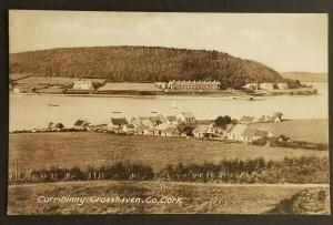 Mint Vintage Ireland Curribinny Crosshaven County Cork Real Picture Postcard