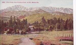 Colorado Pike's Peak From Woodland Park