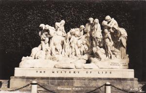 RP, GLENDALE, California, 1930-1950s ; The Mystery Of Life