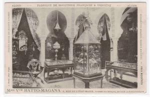 Curiosites Arabes Ratto Magana Store Interior Algers Algeria France postcard