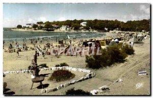 Modern Postcard Vaux Nauzan Beach