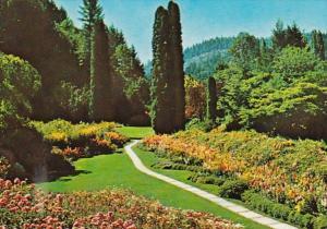 Canada British Columbia Victoria Butchart Garden Sunken Garden