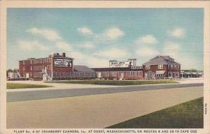 Massachusetts Onset Plant No 4 Of Cranberry Canners 1940