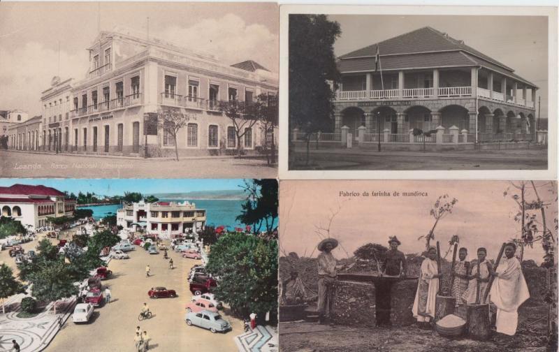 ANGOLA colonie de Portugal 16 CPA Afrique pre-1940 with BETTER