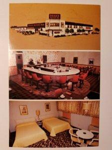 Vintage Postcard Drake Motor Inn Watertown South Dakota US 212 & 81 1988  733