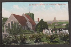 United Kingdom Churches - St. Martin's Church & Cathedral Canterbury - External