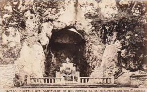 Oklahoma Portland Grotto First Unitt Sanctuary Of Our Sorrowful Mother Real P...