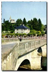 Postcard Modern Saint-Etienne-de-FURSAC Post