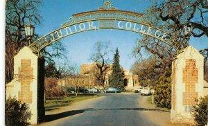 Legion Gate SANTA ROSA JUNIOR COLLEGE Campus Entrance c1950s Vintage Postcard