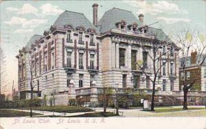 Misouri St Louis The St Louis Club 1908