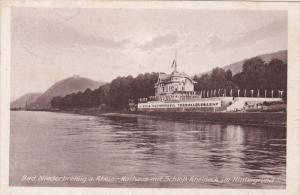 Bad Niederbreisig a Rhein-Kurhaus mit Schloss Rheineck Germany , PU-1923