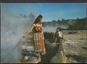 New Zealand Postcard - Rotorua - Cooking In The Pools   LC3948