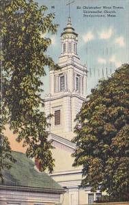 Sir Christopher Wren Tower Universalist Church Provincetown Massachusetts 1951