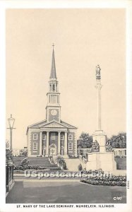 St Mary of the Lake Seminary - Mundelein, Illinois IL