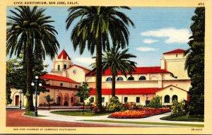 California San Jose Civic Auditorium