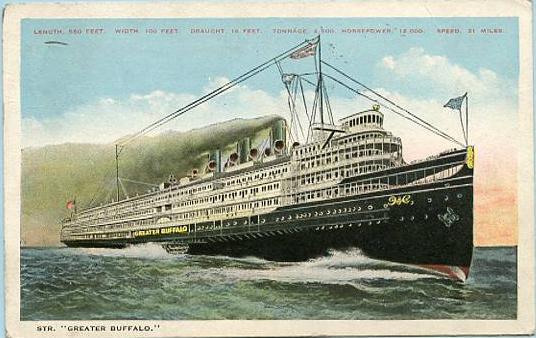 Great Lake Steamer Greater Buffalo
