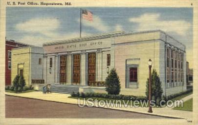 U.S. Post Office Hagerstown MD Unused