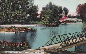 Hollenbeck Park, Los Angeles, California, PU-1911