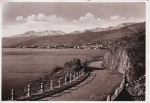 RP: ABBAZIA (now Opatija) , Croatia , PU-1938 : Lungomare