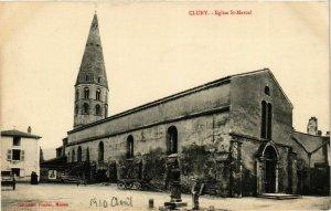 CPA Cluny Eglise St.Marcel FRANCE (952797)