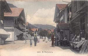 ST BEATENBERG SWITZERLAND ~VERLAG WEHRLI PHOTO POSTCARD 1906
