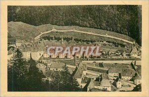 Postcard Old Monastery of the Grande Chartreuse view Set