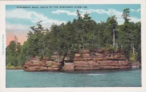 Wisconsin Wisconsin River Steamboat Rock Dells Of the Wisconsin River