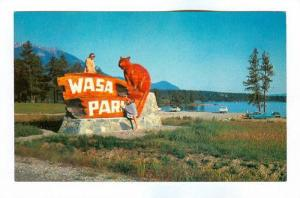 A Real Fun Place, Wasa Lake Park, North Of Historic Fort Steel, B.C., Canad...