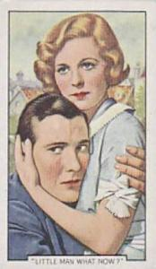 Gallaher Cigarette Card Shots From Famous Films No 23 Little man What Now