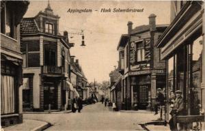 CPA APPINGEDAM Hoek Solwerderstraat NETHERLANDS (706214)