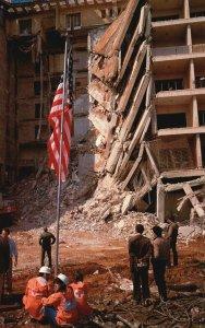 Vintage Postcard US Embassy Bombing Attack Beirut Lebanon