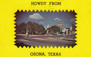 OZONA, TEXAS , PU-1962 ; Main Intersection