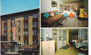 Park Plaza Tourist Apartments, Inside View, MONTREAL, Quebec, Canada, 40-60´
