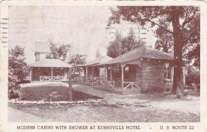 ALLENTOWN, Pennsylvania, PU-1938 ; Kuhnsville Hotel (With Showers!)